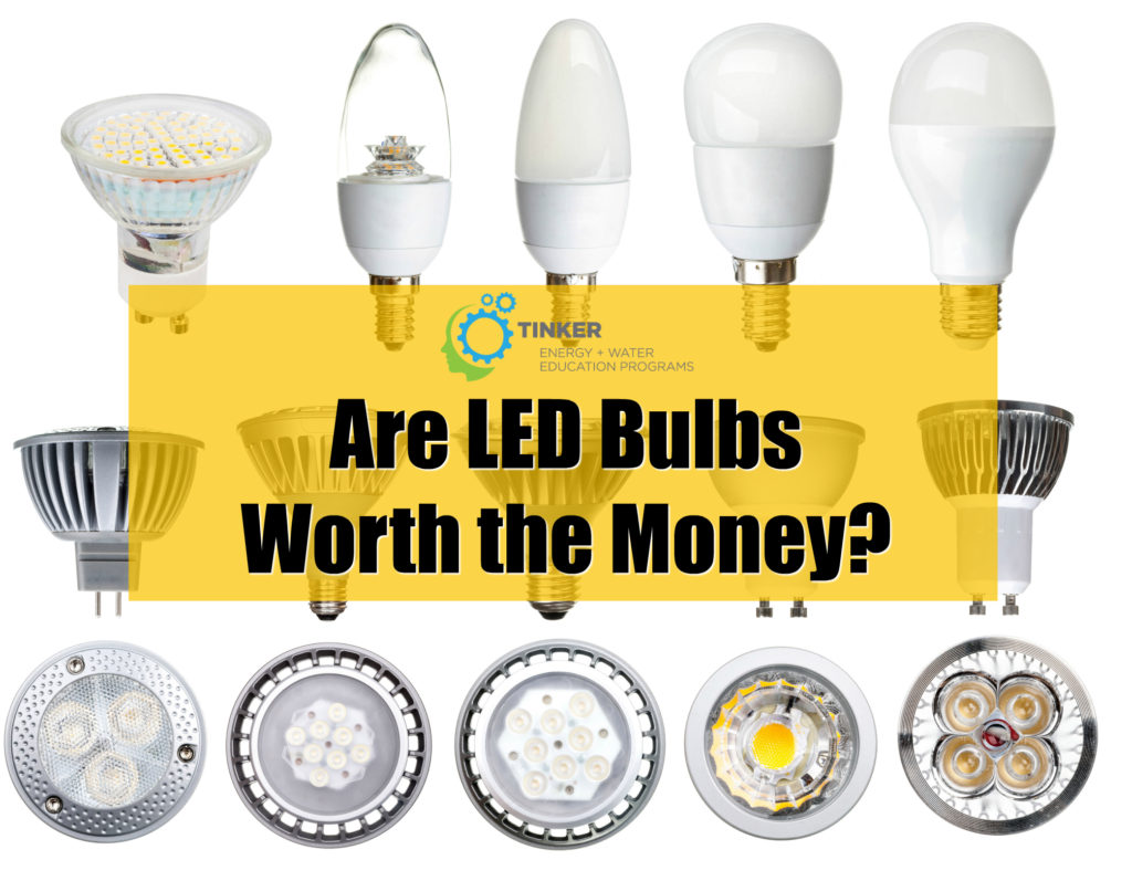 are led bulbs worth the money tinker. Black Bedroom Furniture Sets. Home Design Ideas