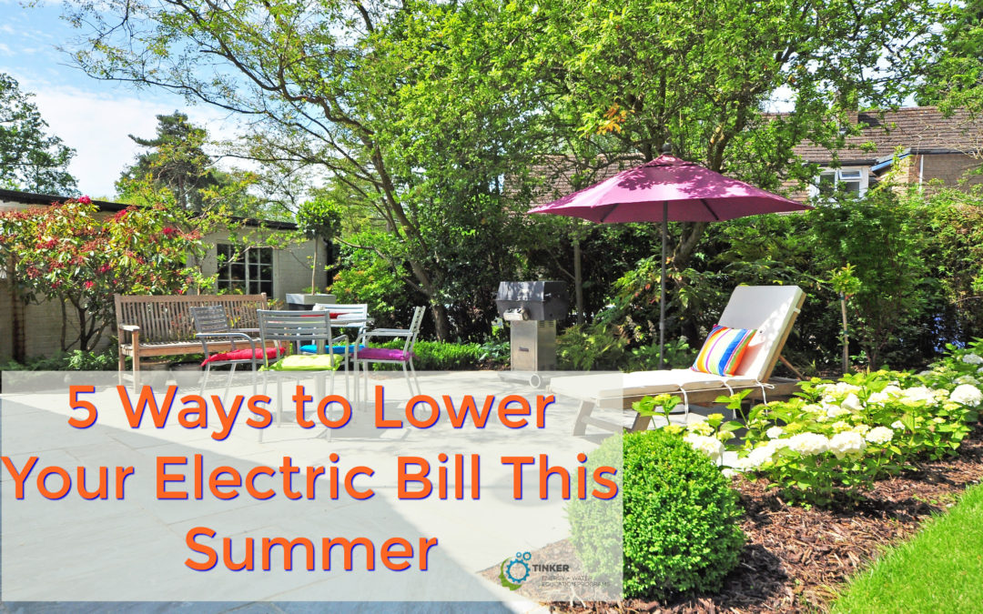 5 Ways to Lower Your Electric Bill This Summer