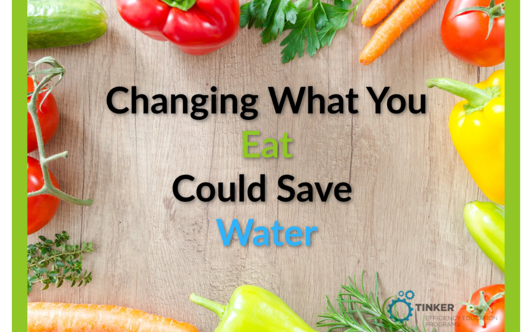 Changing What You Eat Could Save Water